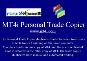MT4i Personal Trade Copier Setup