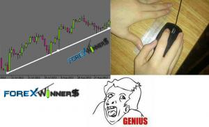 Forex fun-how to draw a perfect trend-line