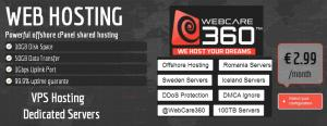 DMCA Ignored Webhosting webcare360