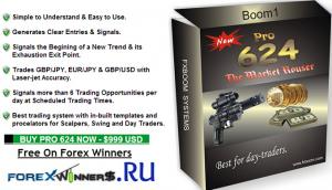 boOM #1 Pro 624 Trading System