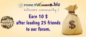 Post 25 posts + Refer 25 members to Earn 10$