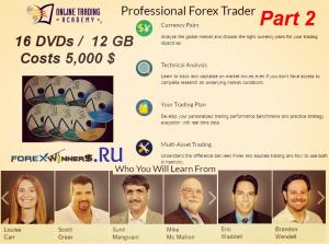 Online Trading Academy – Professional Forex Trader Part2
