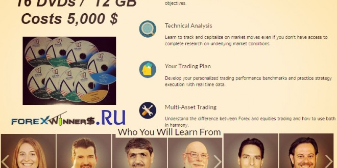Online trading academy system