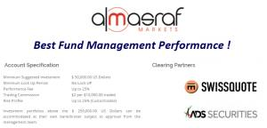 AlMasraf – Best Fund Management Performance