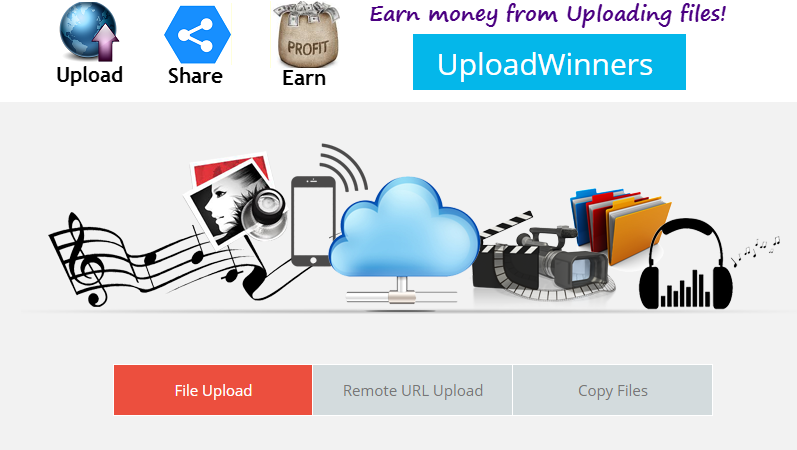 earn money from uploading