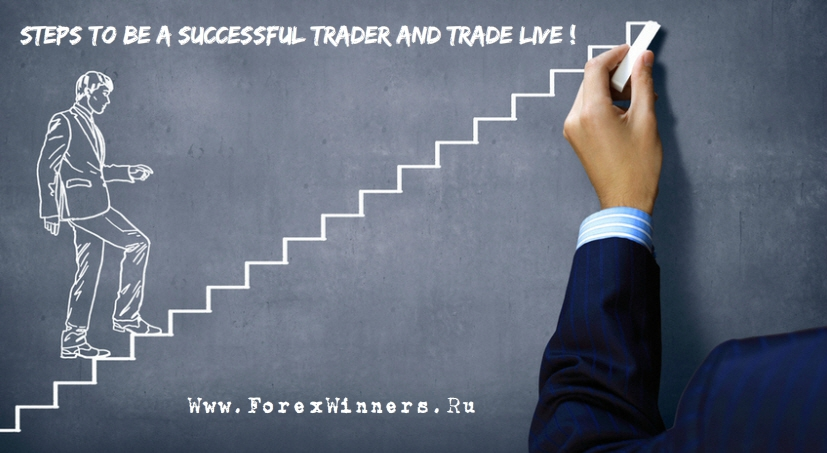Steps To Be A Successful Trader And Trade Live 2