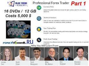 Online Trading Academy – Professional Forex Trader Part1