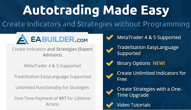 EA builder- convert your trading system to a robot easily | Forex