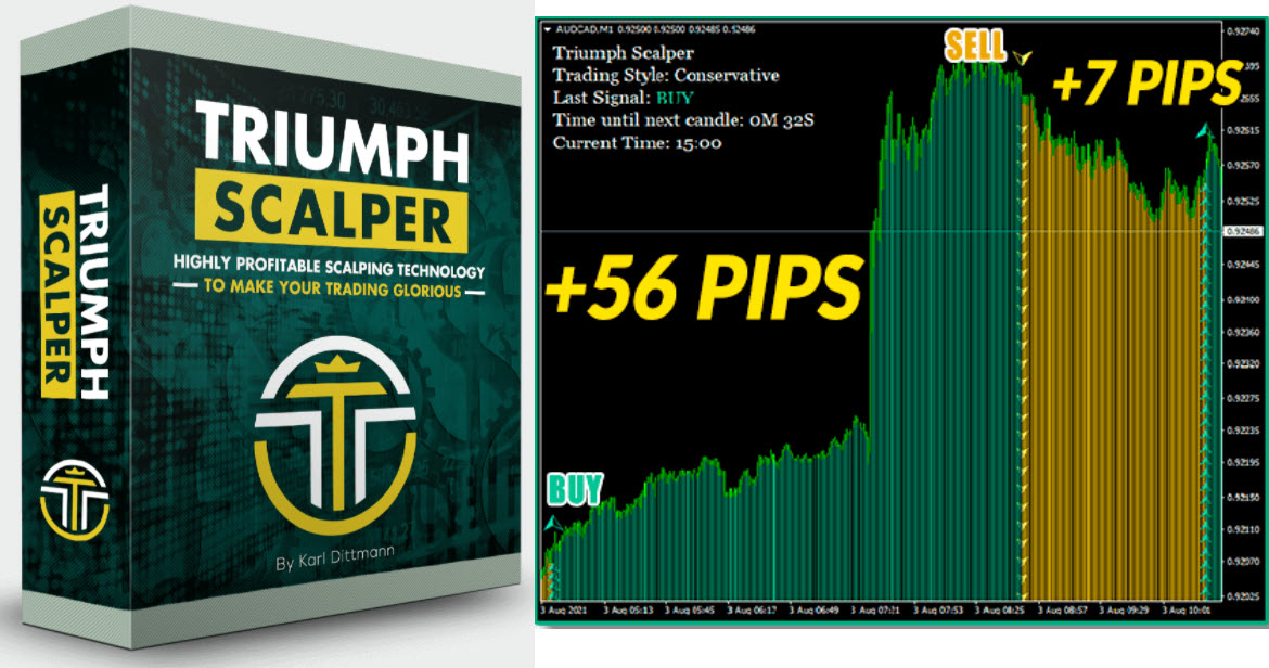 Triumph Scalper , Triumph Scalper Kit – Stable BUY and SELL signals – Forex Winners | Free Download